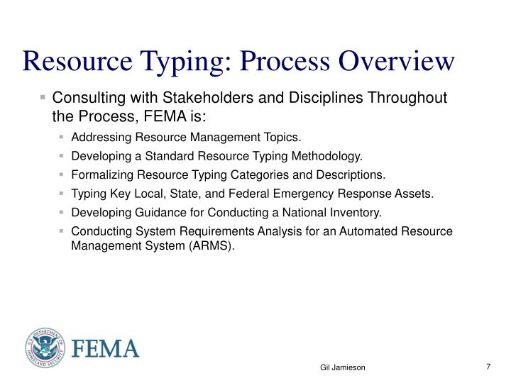 Resource Typing: Process Overview