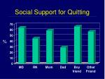 social support for quitting