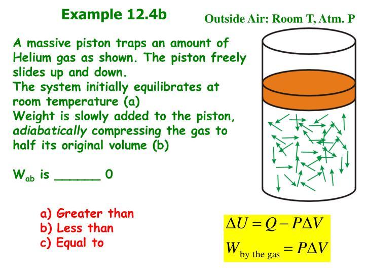 Example 12.4b