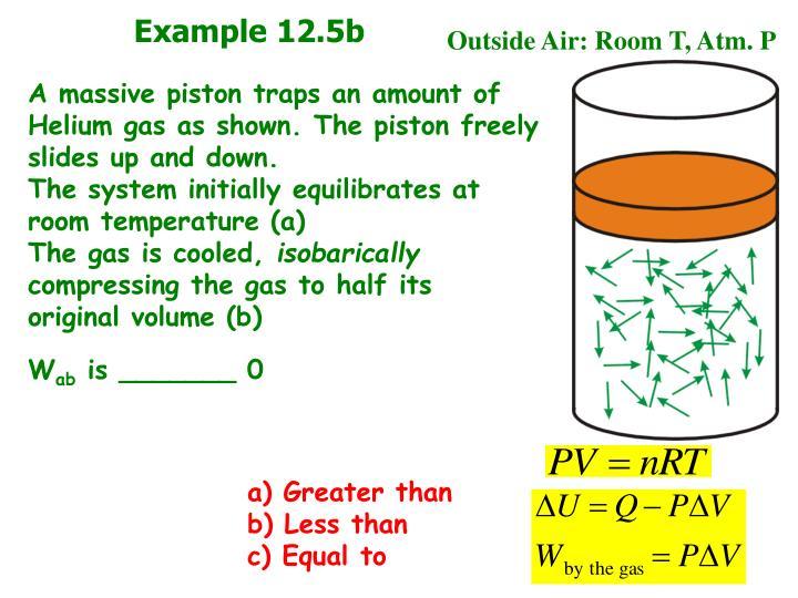 Example 12.5b