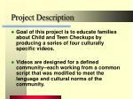 project description9