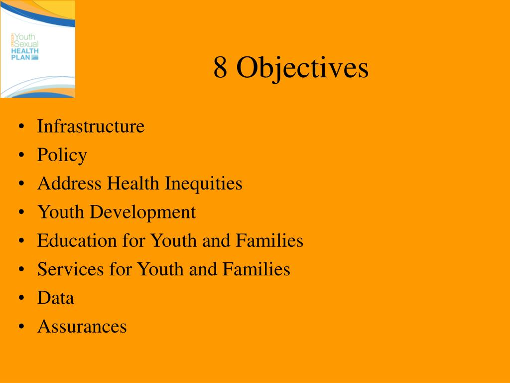 8 Objectives