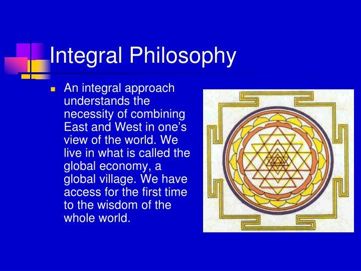Integral Philosophy