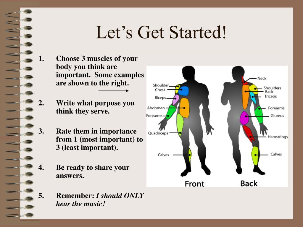 let s get started l.