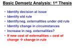 basic demsetz analysis 1 st thesis13