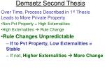 demsetz second thesis30