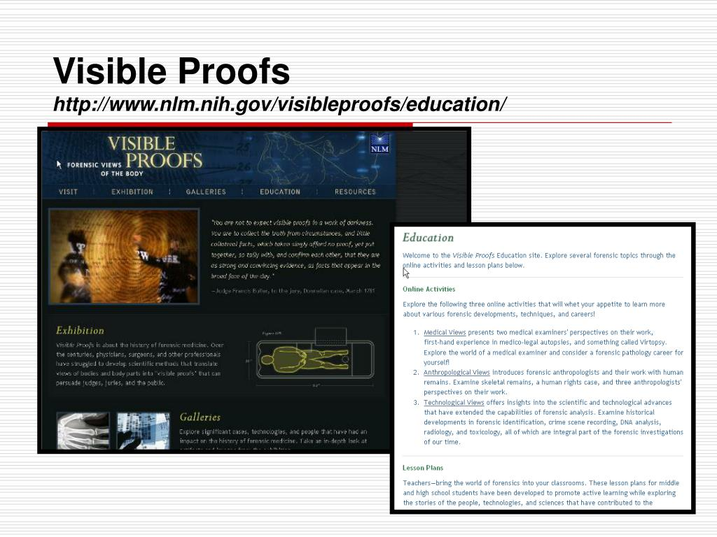Visible Proofs