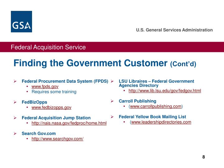 Federal Procurement Data System (FPDS)