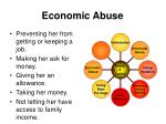 economic abuse