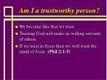 am i a trustworthy person60