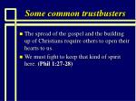 some common trustbusters98