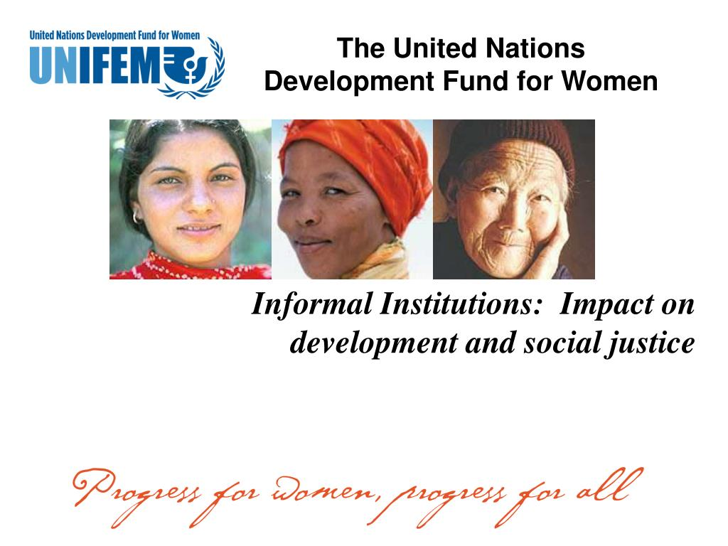the united nations development fund for women