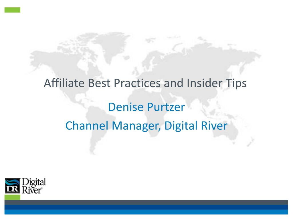 affiliate best practices and insider tips l.
