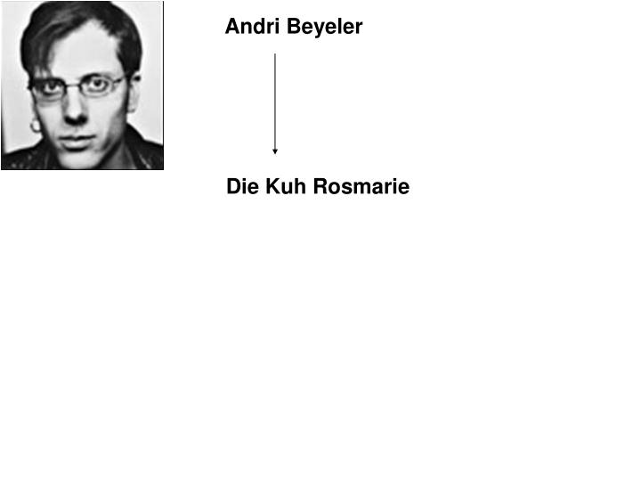 Andri Beyeler