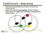 codetorrent beaconing