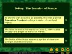 d day the invasion of france