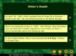 hitler s death