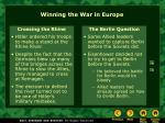 winning the war in europe1