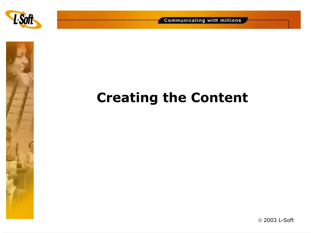Creating the Content