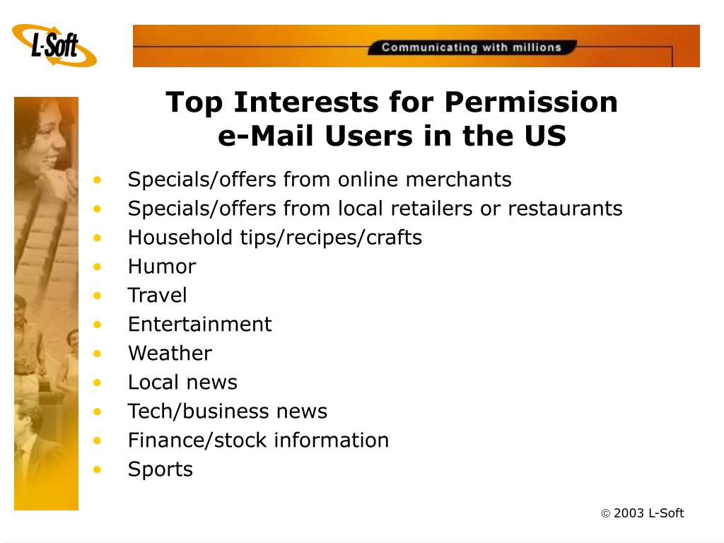 Top Interests for Permission