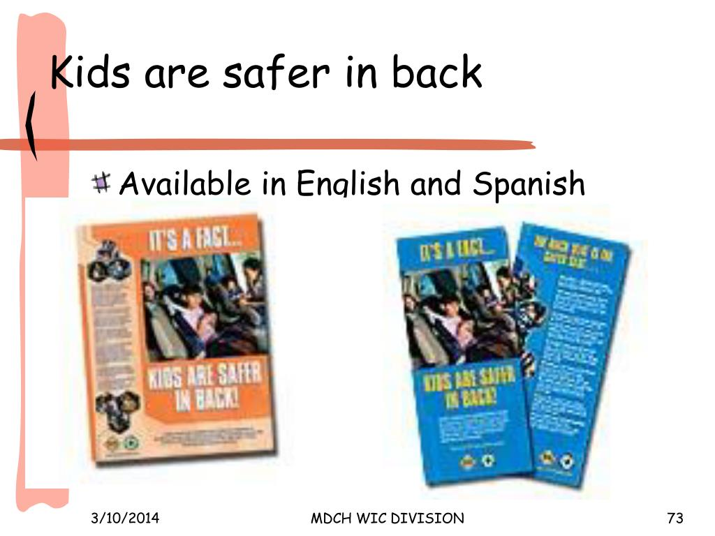 Kids are safer in back