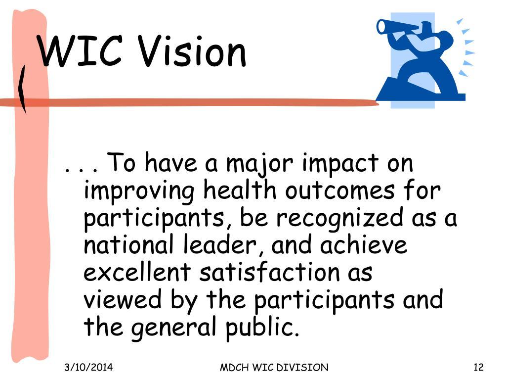 WIC Vision