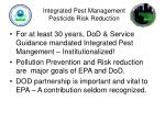 integrated pest management pesticide risk reduction