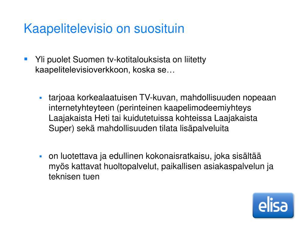 Kaapeli Tv Tampere