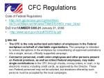 cfc regulations
