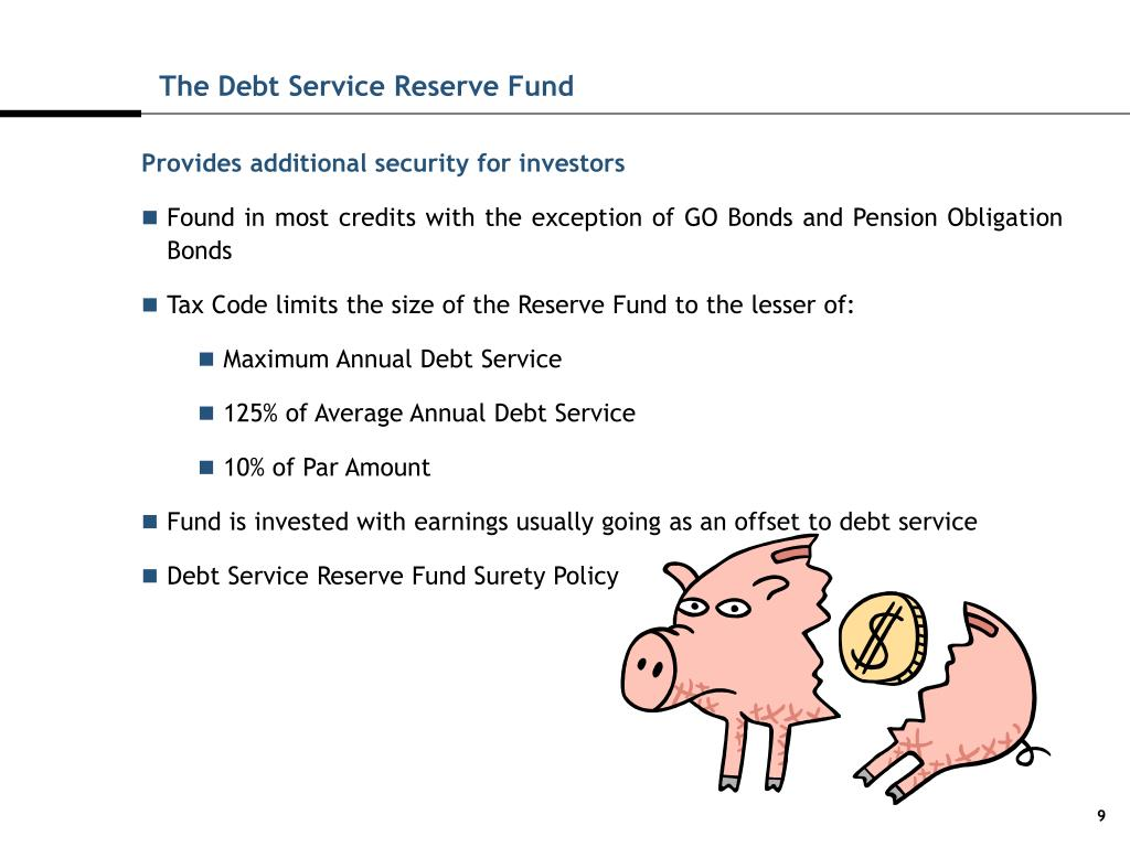 The Debt Service Reserve Fund