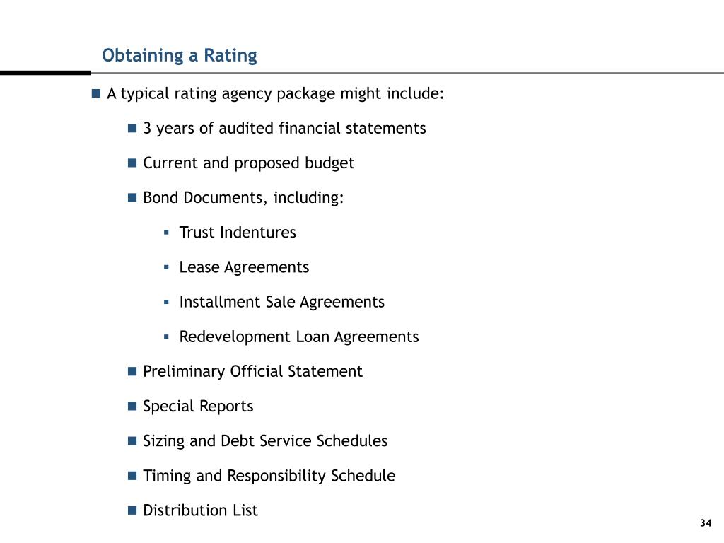 Obtaining a Rating