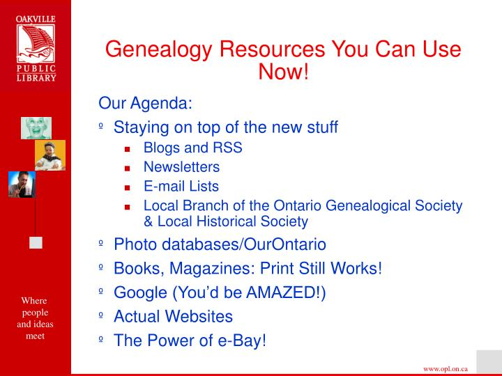 Genealogy resources you can use now2