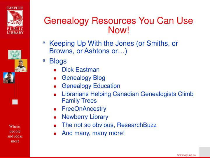 Genealogy resources you can use now3