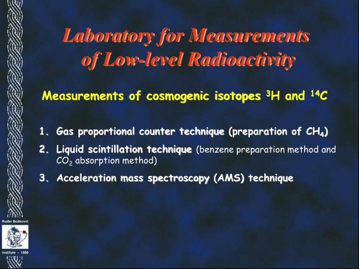 Laboratory for Measurements
