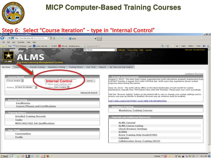 Ppt Managers Internal Control Program Micp Computer