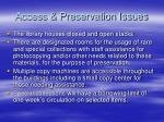 access preservation issues6