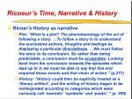 ricoeur s time narrative history21