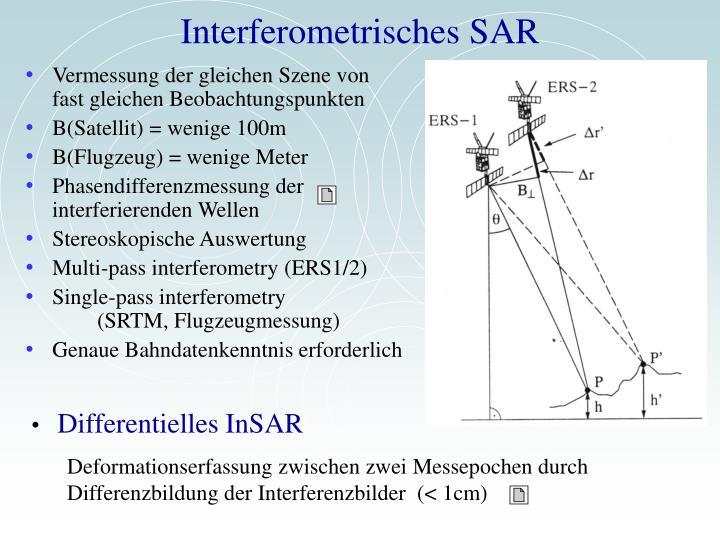 Interferometrisches SAR