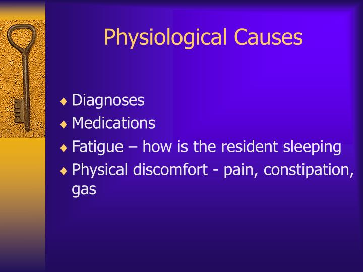 Physiological Causes