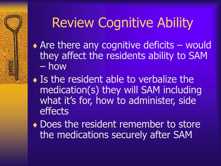 Review Cognitive Ability