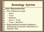 genealogy system7