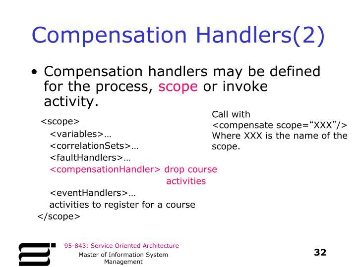 Compensation Handlers(2)