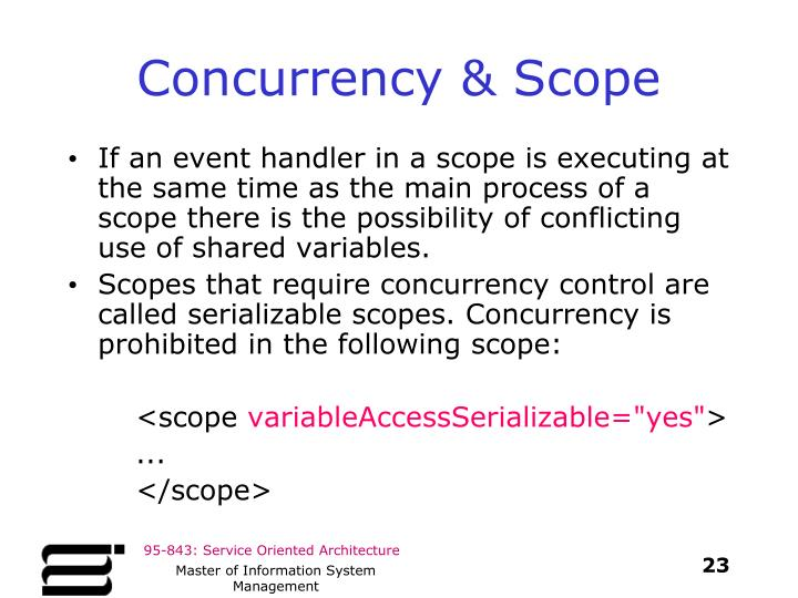Concurrency & Scope