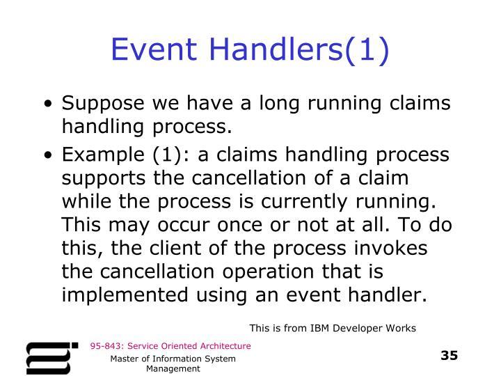 Event Handlers(1)