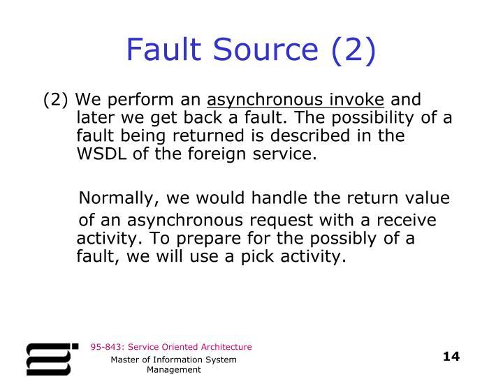 Fault Source (2)