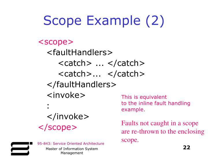 Scope Example (2)