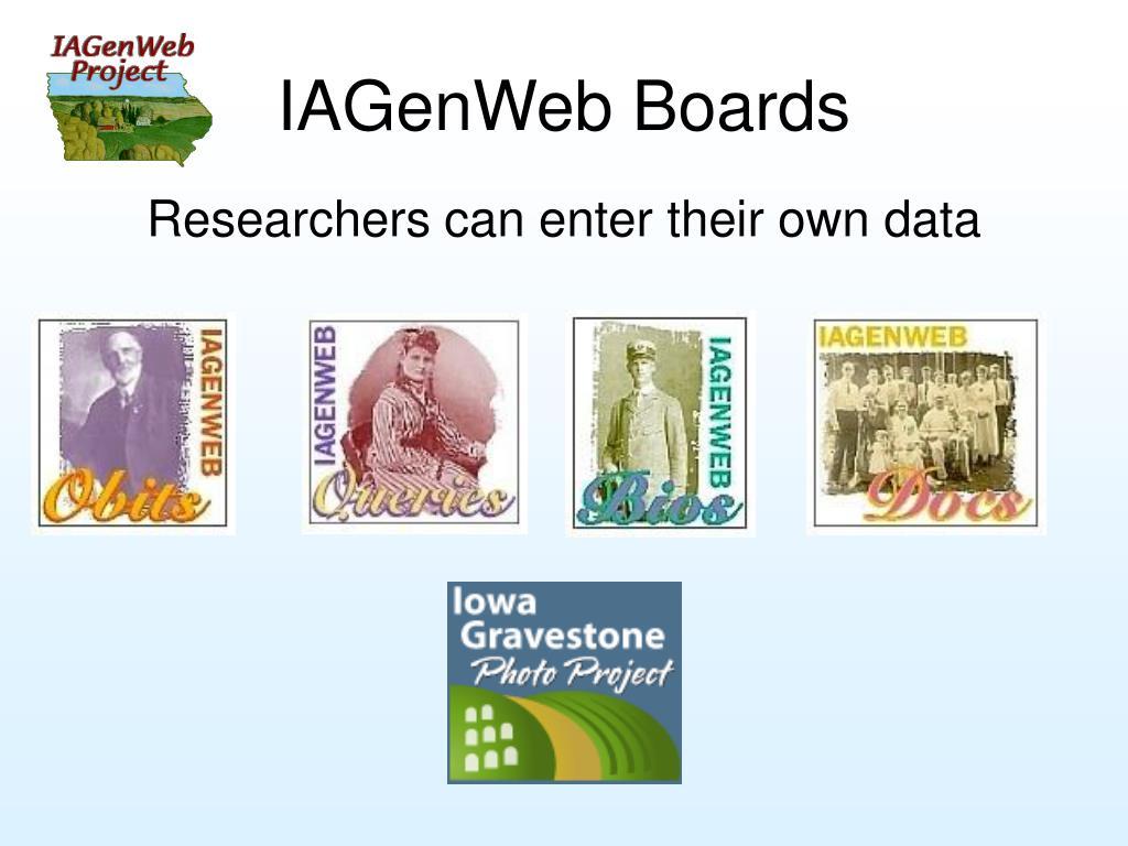 IAGenWeb Boards