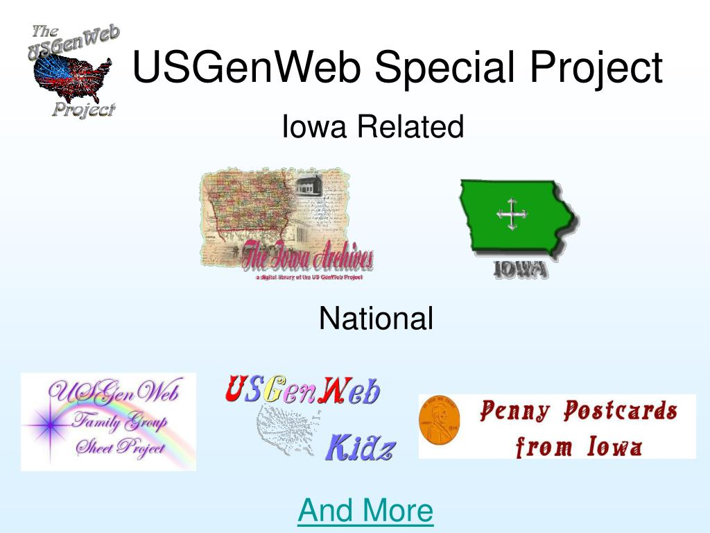 USGenWeb Special Project