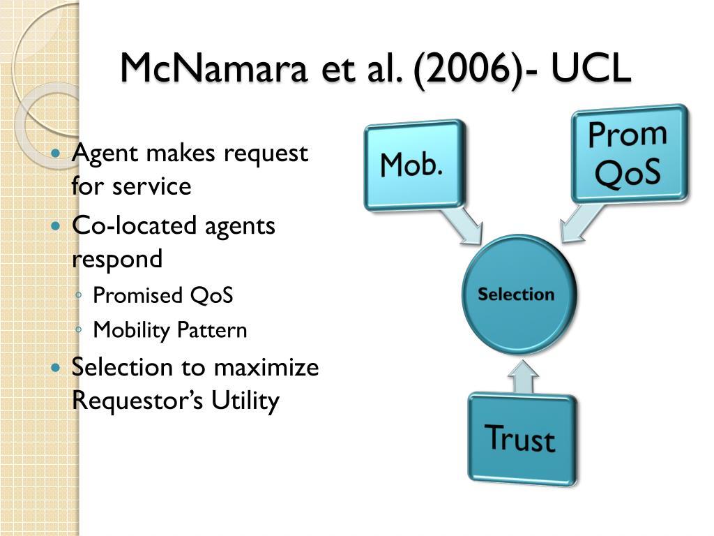McNamara et al. (2006)- UCL
