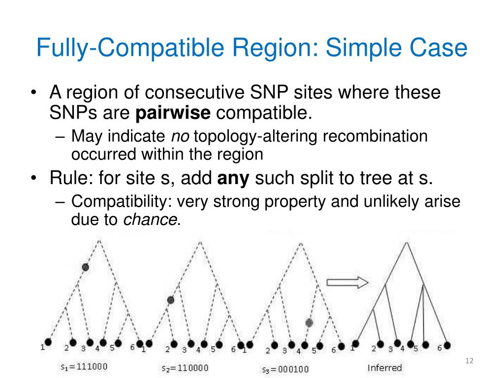 Fully-Compatible Region: Simple Case